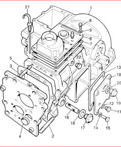 Joint Washer, Bearing Plate To Gearbox