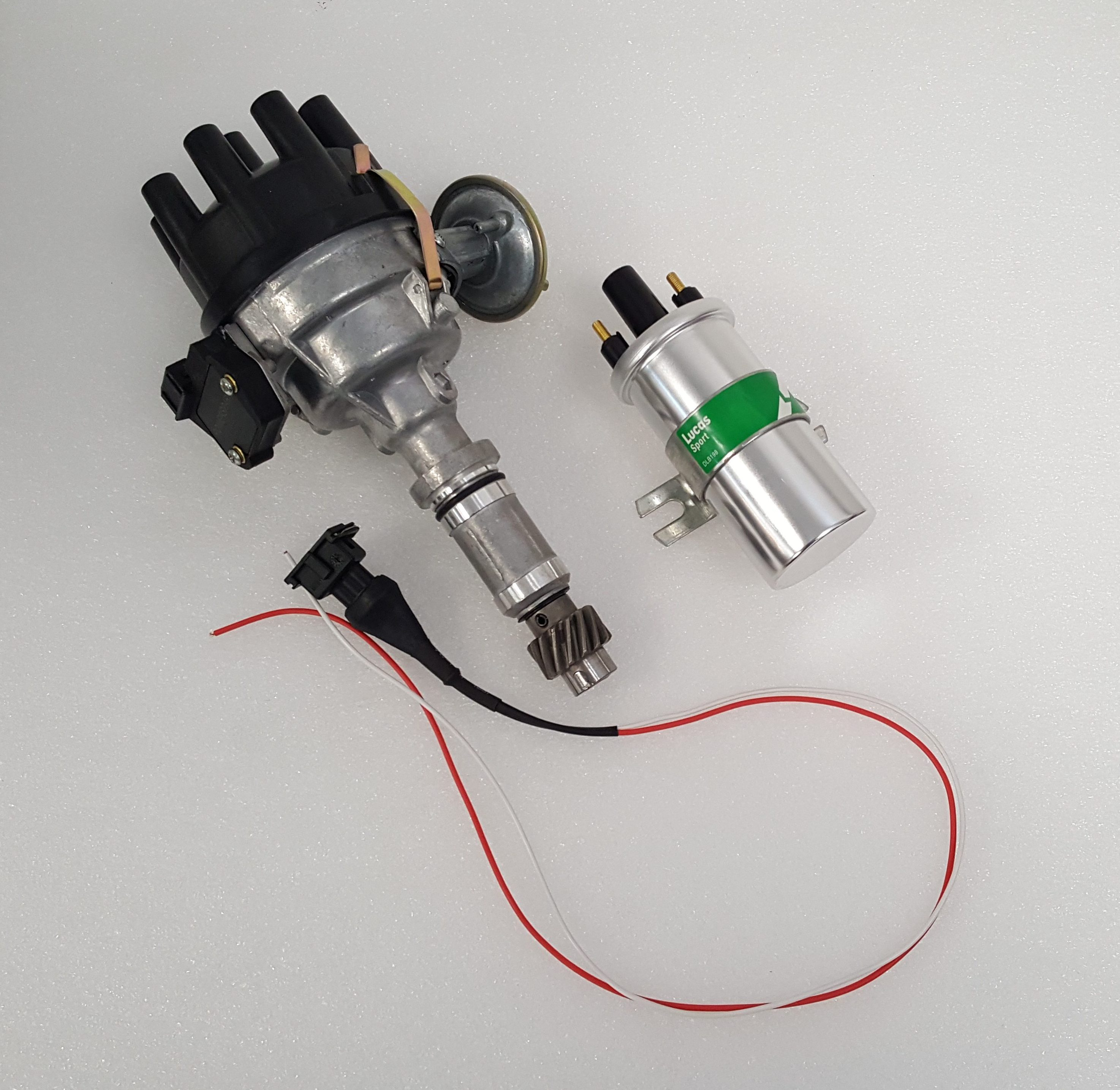 Electronic Distributor And Coil